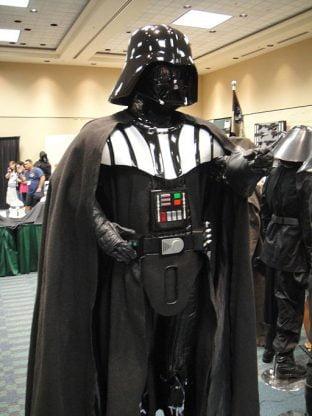 Star Wars Celebration 501st Room Darth Vader Costume